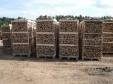 Bois de chauffage de la lettonie