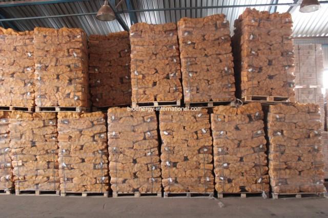 Production de bûches de bois ruf et bois de chauffage