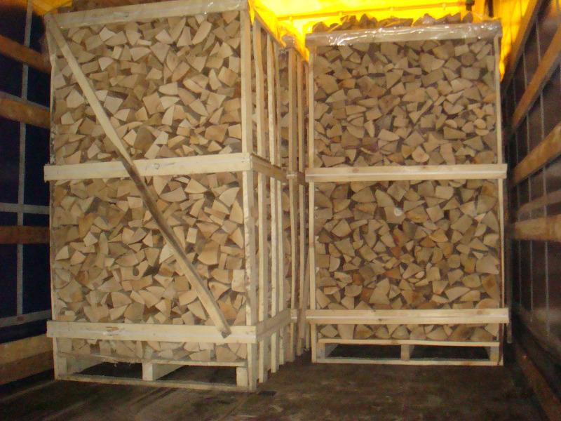 Brennholz, frisch oder getrocknet