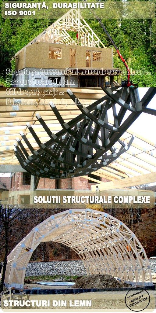 Estructuras de madera para construcciones civiles y industriales