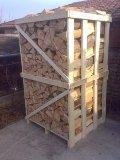 Acquisto legna da ardere secca di faggio imbancallata, pagamento in contanti