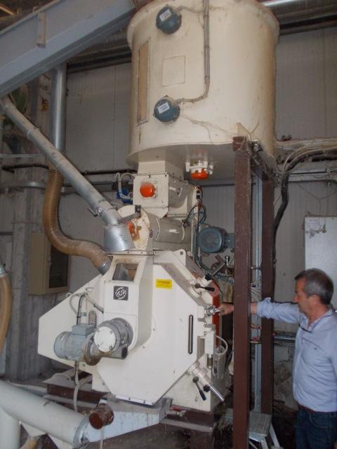 Impianto di produzione pellet for Impianto produzione pellet usato