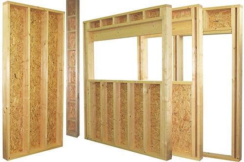 Structures bois – maisons, charpentes, salles, ponts, constructions agricoles