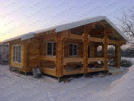 Wooden houses from the manufacturer