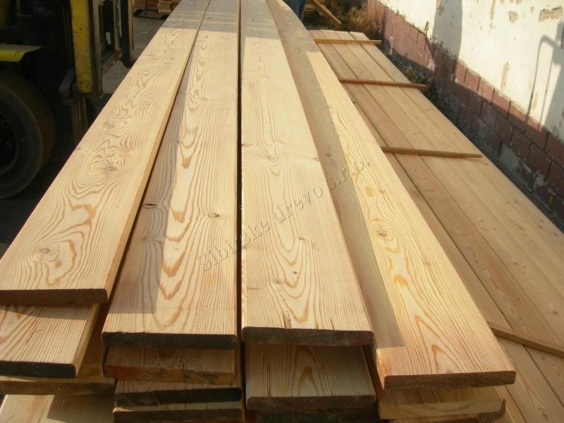 Tavola in legno, Pavimenti, Listoni piallati, Larice Siberiano