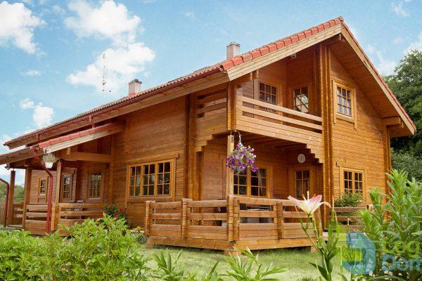 Casas de madera entramado ligero y entramado pesado.