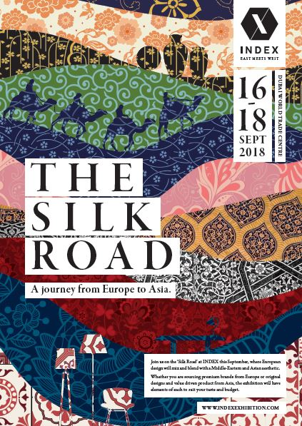 Where East meets West: Silk Road theme announced for second INDEX design event of 2018
