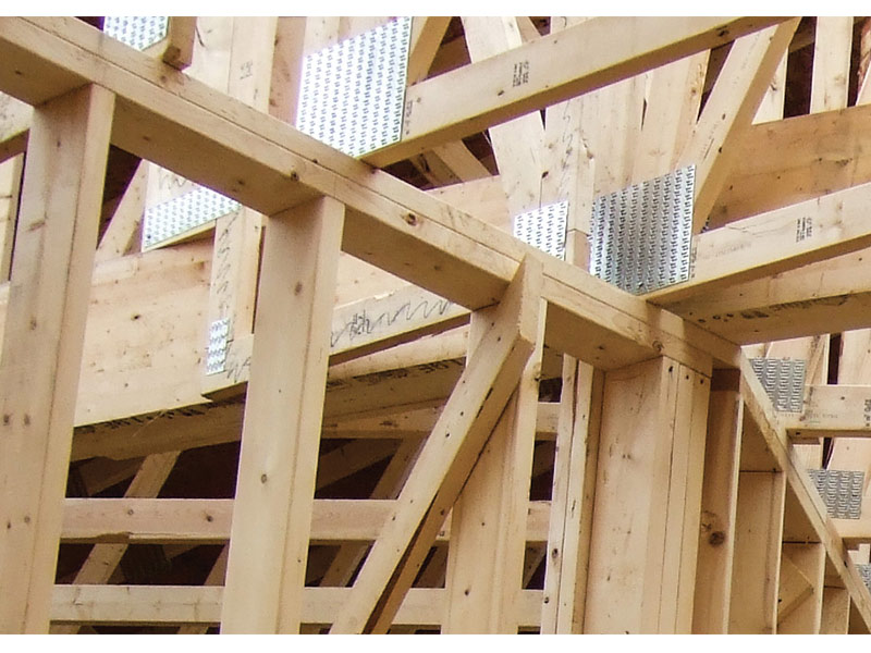 Survey shows growth in timber as a construction material