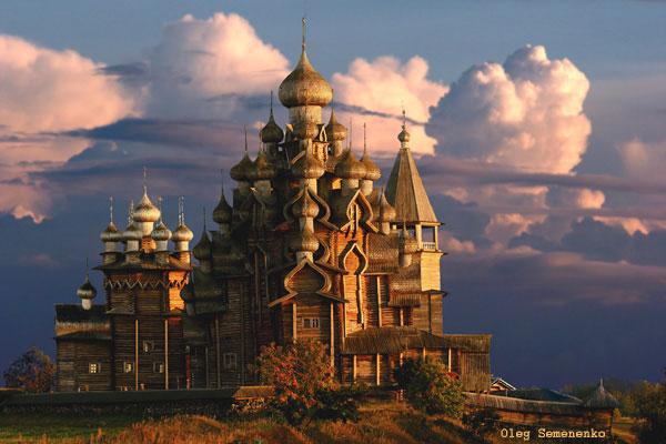 Russische Holzarchitektur