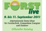 FORST live 2011 - Energien und Qutdoor Deutschlands