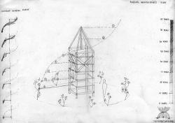 Egy szokatlan élő fákbók készüt torony hat évtizeden belűl befejeződik